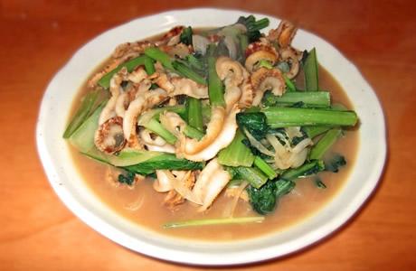 チンゲン菜のレシピ
