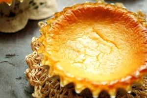 低糖質の人気のスイーツ・おやつのレシピ「なめらかベイクドチーズケーキ」