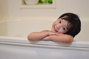 子供と一緒にお風呂に入ってくれる