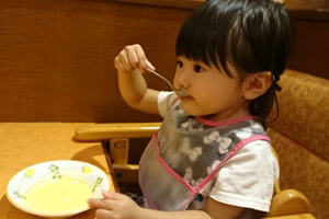 子供の免疫力を高める方法「しっかりとした食事」