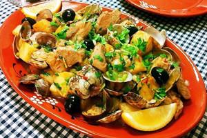 マッサの豚肉とあさりの炒め物のレシピ