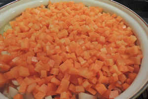 最後に人参をいれるのがハーバード式の野菜スープ
