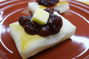 小倉バター餅