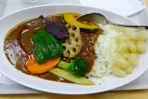 歯を汚す食べ物「野菜カレー」