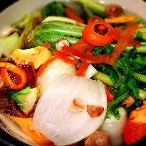 野菜くずで作るベジブロスのレシピその1
