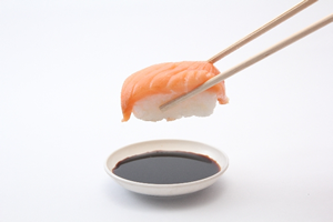 子供が好きなお寿司のサーモン