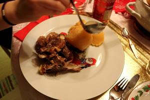 ノルウェーのクリスマス料理・お菓子③「子羊と塩のピンネショット」
