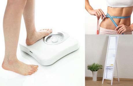 ダイエット・三種の神器、体重計・体脂肪計、メジャー、全身鏡、もしくはスマートフォンのカメラ機能