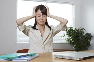 血行が悪い状態になると頭痛が起きる