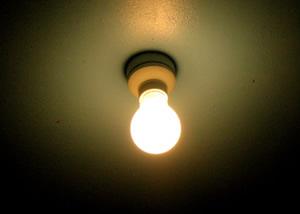 豆電球や照明器具で太る体質になってしまう