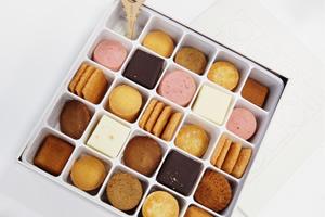 箱詰めのお菓子