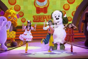 子供と一緒に、子供番組の体操を踊ろう