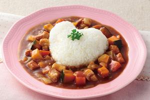 ゴロゴロ野菜のハートフル・カレー
