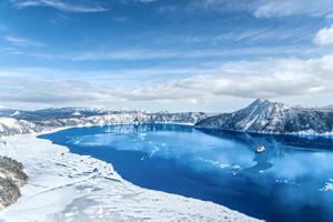 北海道遺産の摩周湖