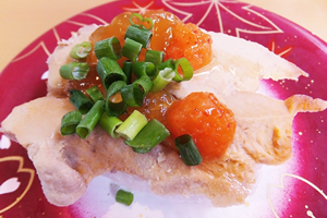 ビタミンDの多い料理・レシピ「アン肝の寿司」