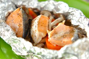鮭、サーモン(旬の記事:9月~11月の秋味モノが良い)