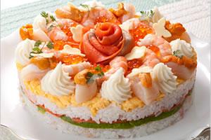 ごちそうケーキ寿司