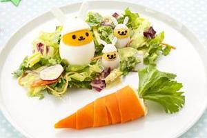 イースター手作り料理・レシピ⑧「ドレスエッグのイースターサラダ」