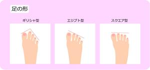 パンプスとヒールを買う時は、足の形と相性の良い靴の形を選ぶ