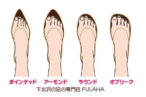 痛くない靴の選び方