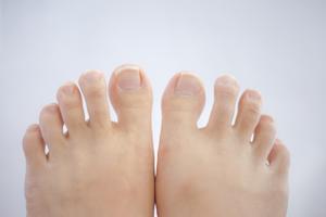 エジプト型の足