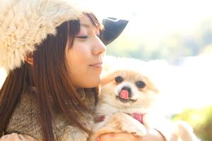 ペットを飼っている女子(特に25歳以上の女性)