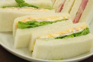 断トツ・トップは、卵のサンドイッチ、タマゴ・マヨネーズ