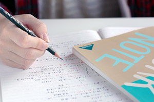 テストの過去問、ノート