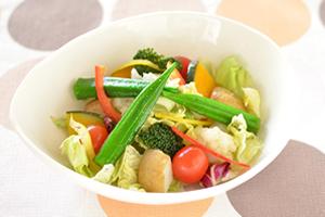 野菜はスープや加熱すると良い