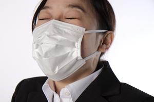 アレルギー性の鼻炎(くしゃみ、鼻水、鼻づまり)