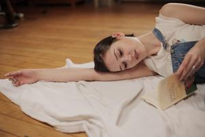 フローリングの床に、布団を敷かない