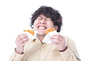ダイエット後のリバウンド、食事制限によるドカ食い