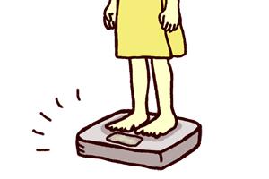 体重計を測りたくない、鏡を見たくない。体重計や鏡が怖い