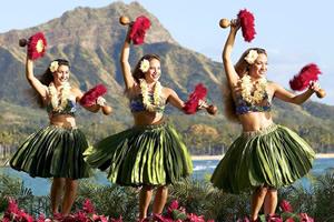 ハワイ生まれのフラダンス