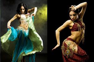 古代エジプトのダンス、ベリーダンス