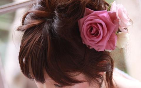 ショート&ボブのヘアアレンジ特集学生・20代、30代女子から40代女性の簡単・時短のモテ髪