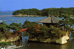 松島(宮城県/松島町)。日本三景のひとつの松島