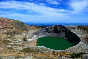 蔵王連峰の御釜