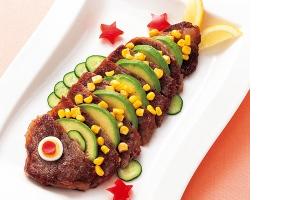 鯉のぼりステーキ