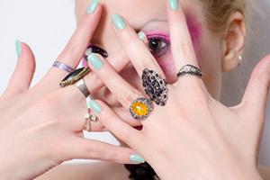 指輪サイズの平均