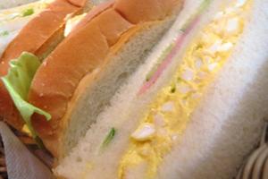 卵のサンドイッチ