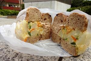 ポテト野菜サンド