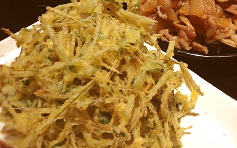 簡単・人気の春の天ぷら、人気の食材と山菜レシピ