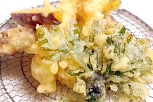 天ぷら、かき揚げ