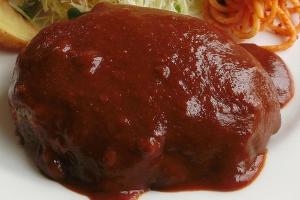 ケチャップ・ハンバーグ