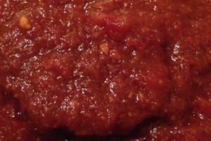 トマトソース・ハンバーグ