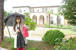 モテる服!男子が好きな雨の日コーデ、梅雨、台風の季節の女子ファッション