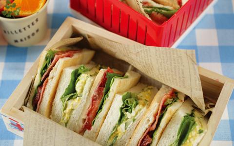 簡単!定番人気のサンドイッチ弁当のおかずランキング