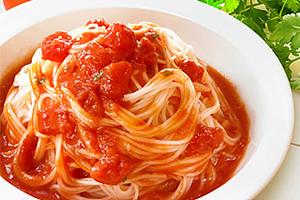トマトパスタ風イタリアンそうめん