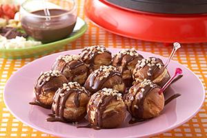 チョコレートのたこ焼き